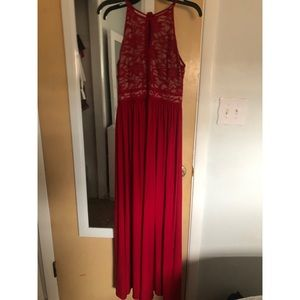 Night Way Collections Dresses - Red full length gown